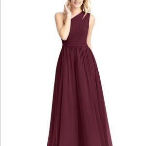 Azazie Molly Dress, Cabernet, size A4